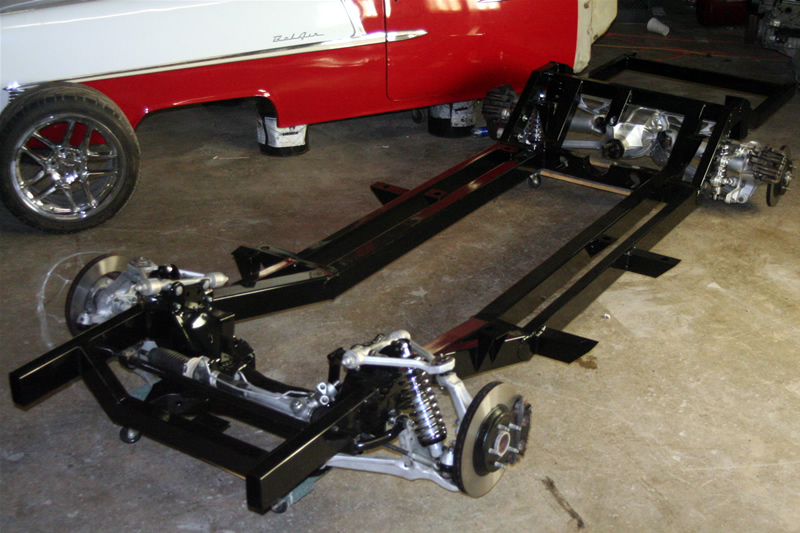 Trifive C4 Corvette Suspension Rolling Chassis Fits 1955