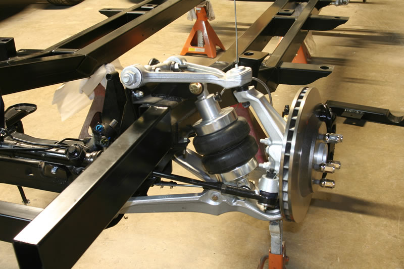 Details about Rolling Chassis C4 Grand Sport Air Ride 55 56 57 Chevy