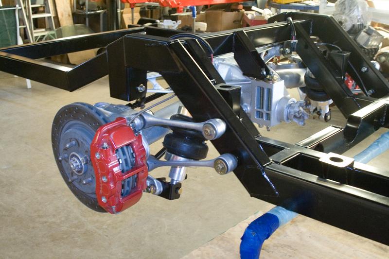 55 Chevrolet Truck With C4 Corvette Rear Suspension